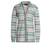 Crochet-knit shirt
