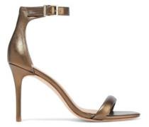 Ester Suede Sandals Bronze