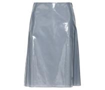 Vinyl Skirt Gray