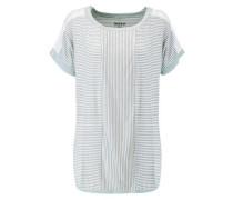 Striped stretch-modal top