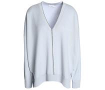 Bead-embellished cashmere sweater