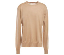 Woman Cashmere Sweater Sand