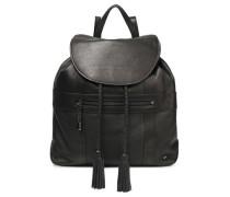 Pebbled-leather Backpack Black Size --