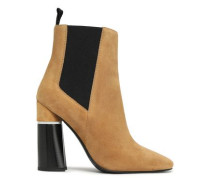 Drum Suede Ankle Boots Sand