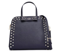 Merriam Davies Mews embellished leather shoulder bag