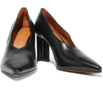 Kathleen Leather Pumps Black