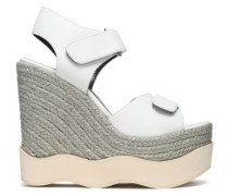 Lys leather espadrille wedge sandals