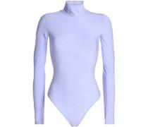 Stretch-jersey turtleneck bodysuit