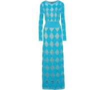 Open-knit maxi dress