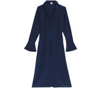 Lynden silk crepe de chine midi dress