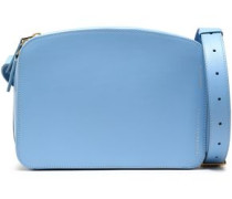 Leather Shoulder Bag Light Blue Size --