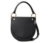 Woman Leather Shoulder Bag Black