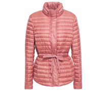 Woman Quilted Shell Down Jacket Antique Rose