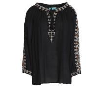 Anastasia embroidered voile tunic