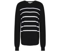 Breton striped cotton-blend sweater