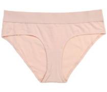 Stretch-cotton Jersye Mid-rise Briefs Pastel Pink