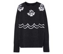 Chloe intarsia merino wool sweater