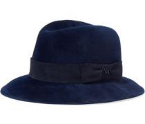 Wool Fedora Midnight Blue