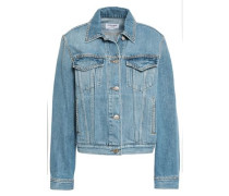 Studded Denim Jacket Mid Denim