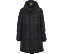 Rowlock Quilted Cotton-blend Down Jacket Black