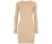 Cotton-jersey mini dress