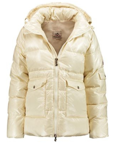 Authentic quilted shell down jacket