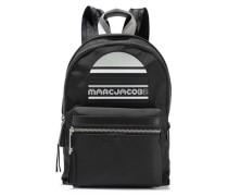 Trek Embellished Leather-trimmed Shell Backpack Black Size --