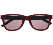 D-frame Printed Acetate Sunglasses Black Size --