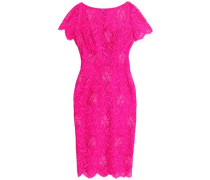 Guipure lace embroidered dress
