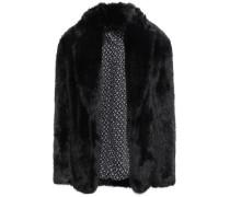 Woman Faux Fur Jacket Black