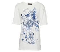 Printed cotton-jersey T-shirt