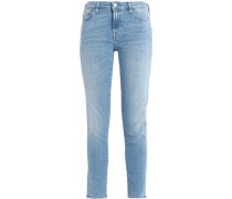 Pyper cropped mid-rise skinny jeans