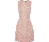 Hourglass Brocade Mini Dress Pastel Pink