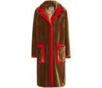 Woman Chantal Faux Fur Coat Camel
