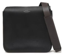 Compton Leather Shoulder Bag Black Size --