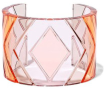 Acrylic Cuff Baby Pink