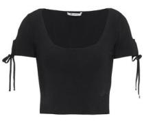 Woman Short Sleeved Top Black
