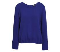 Silk Blouse Royal Blue