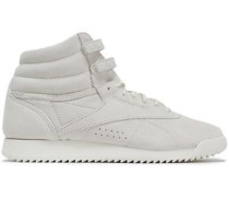 Suede Sneakers Off-white