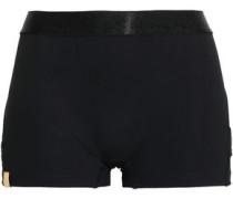 Stretch-jersey Shorts Black