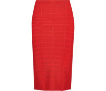 Sia Bandage Pencil Skirt Red