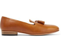 Gaston tasseled leather loafers
