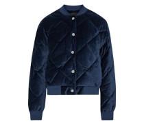 Balou quilted cotton-velvet bomber jacket