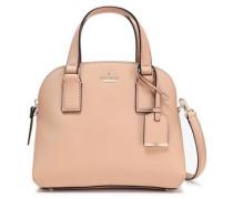 Textured-leather Shoulder Bag Sand Size --
