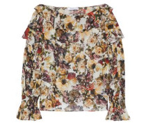 Once Upon A Time ruffled floral-print chiffon blouse