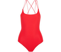Woman Kilauea Swimsuit Tomato Red
