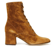 Mackay Lace-up Suede Ankle Boots