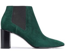 Suede Ankle Boots Emerald