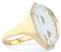 18-karat Gold Quartz Ring Gold