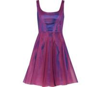 Neoprene-mesh dress